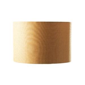 Amber fabric lamp shade