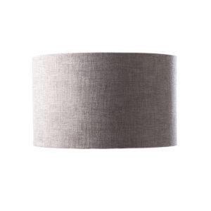 Grey fabric lamp shade