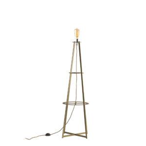 Grand Phare brass floor lamp