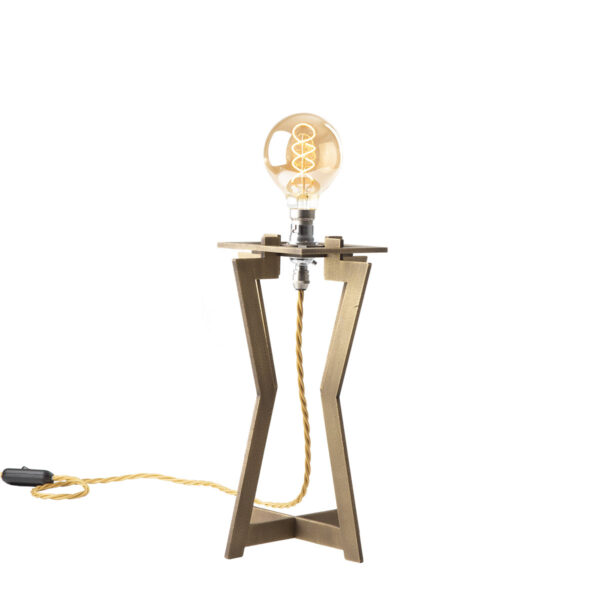 Monument brass table lamp