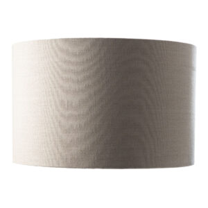 Large linen lamp shade