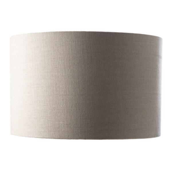 Large Linen Drum Shade Ontal Lighting, Large Drum Lamp Shade Grey